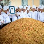 Riso fritto da Guinness in Costa Rica per il Capodanno cinese