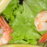 Gastronomia: insalata di gamberetti e palmito