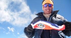Warner Rojas Chinchilla è arrivato in cima all'Everest