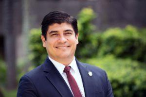 Presidente del Costa Rica Carlos Alvarado Quesada